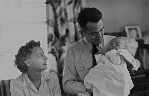 Lesley, Perry, infant Trisha